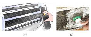تمیز کردن فین های کولر گازی