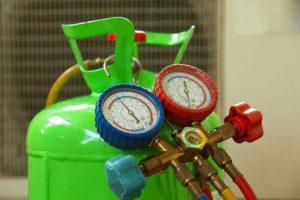 شارژ گاز با دمای هوا