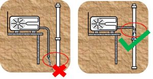 تخلیه آب کولر گازی