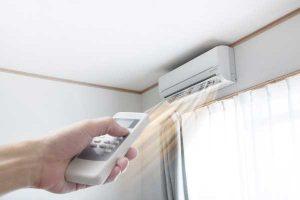 کم شدن پرتاب باد کولر گازی