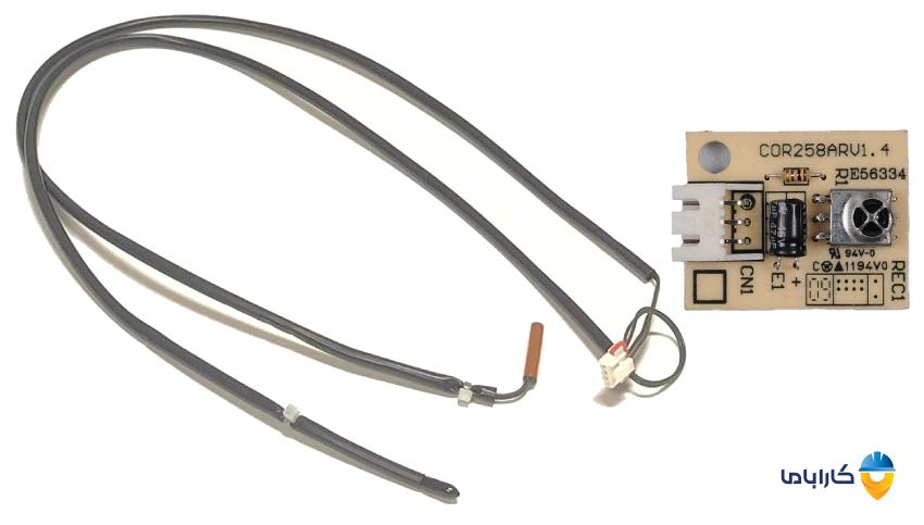 ترمیستور یا سنسور دمایی کولر گازی و روش تست آن
