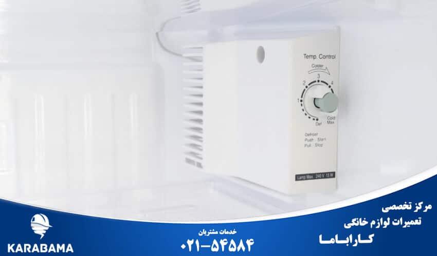 ترموستات یخچال و نحوه تنظیم دمای یخچال