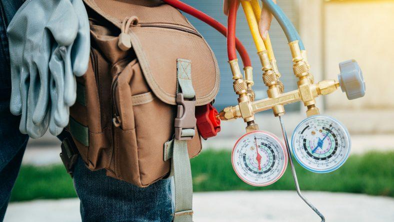 لوله کشی توکار کولر گازی، نصب کولر گازی، جابجایی کولر گازی