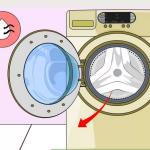 برطرف کردن بوی بد مشاین لباسشویی