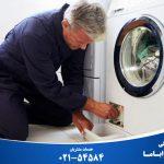 علت جمع شدن آب و تخلیه نشدن اب ماشین لباسشویی