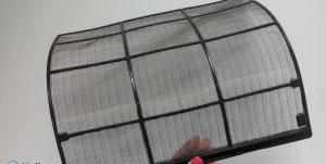 مراحل تمیز کردن فیلتر کولر گازی