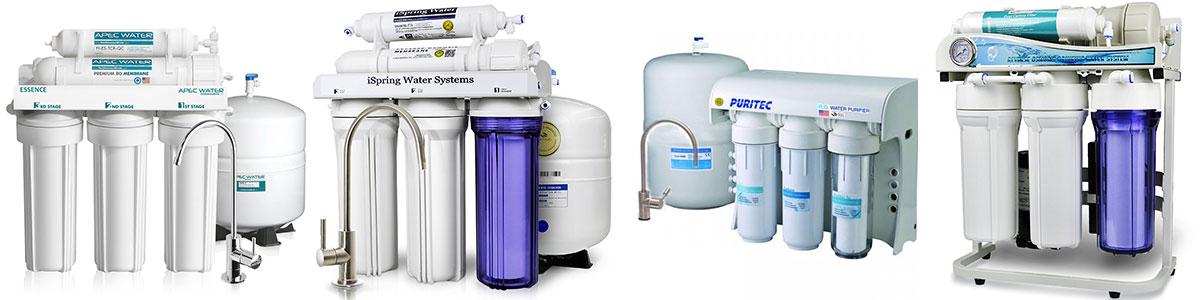تعویض فیلتر انواع دستگاه تصفیه آب خانگی