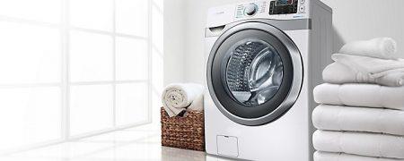 آسیب زدن به ماشین لباسشویی