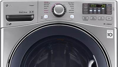 عیب یابی ماشین لباسشویی ال جی