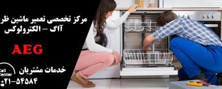 نمایندگی تعمیرات ماشین ظرفشویی ال جی الکترولوکس