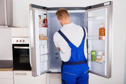 تعویض فیلتر یخچال ساید بای ساید