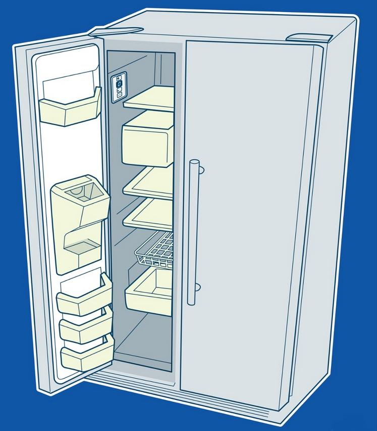 مشکلات رایج یخچال فریزر