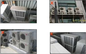 آموزش نصب کولر گازی اینورتر - محل نصب کولر گازی