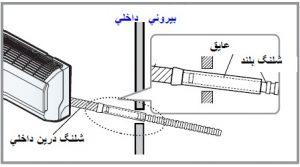 آموزش نصب کولر گازی اینورتر ال جی - عایق کاری