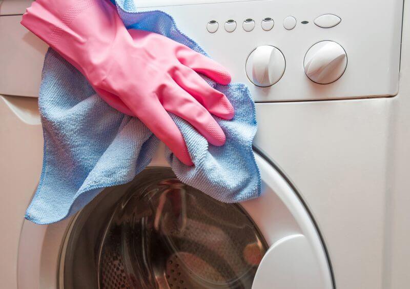 تمیز کردن خارج ماشین لباسشویی