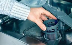 فیلتر تخلیه ماشین ظرفشویی