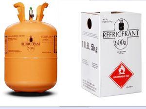 گاز مبرد یخچال R600 یا R600a