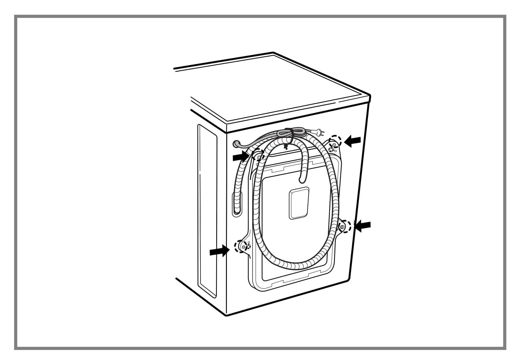 مهره های مخصوص ماشین لباسشویی