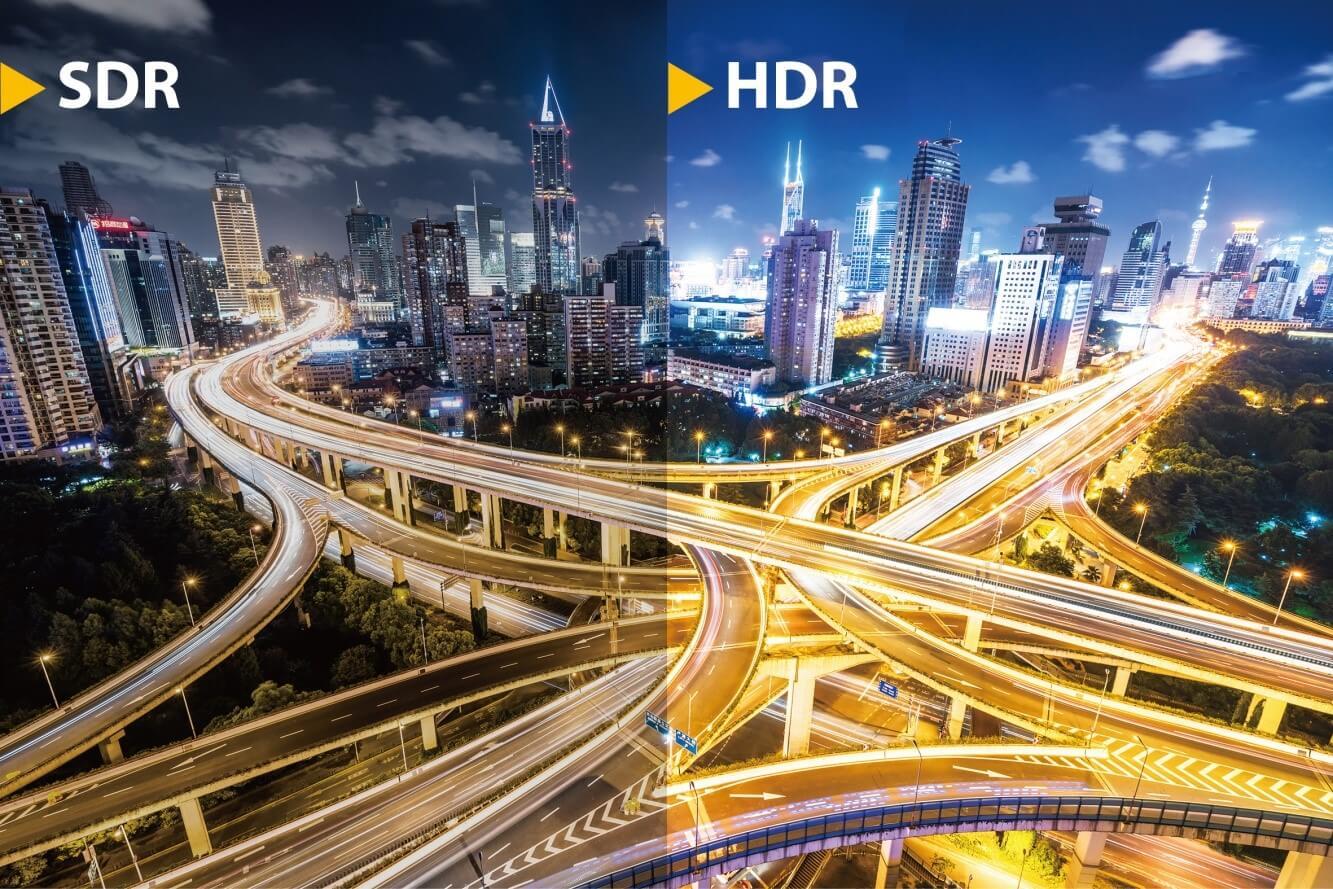 HDR vs SDR quality