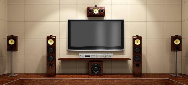 home cinem- sound bar