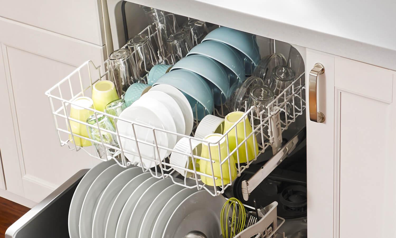 چیدن ظروف در ماشین ظرفشویی