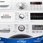 طرز استفاده از لباسشویی و عملکرد دکمه های لباسشویی ال جی، سامسونگ و بوش