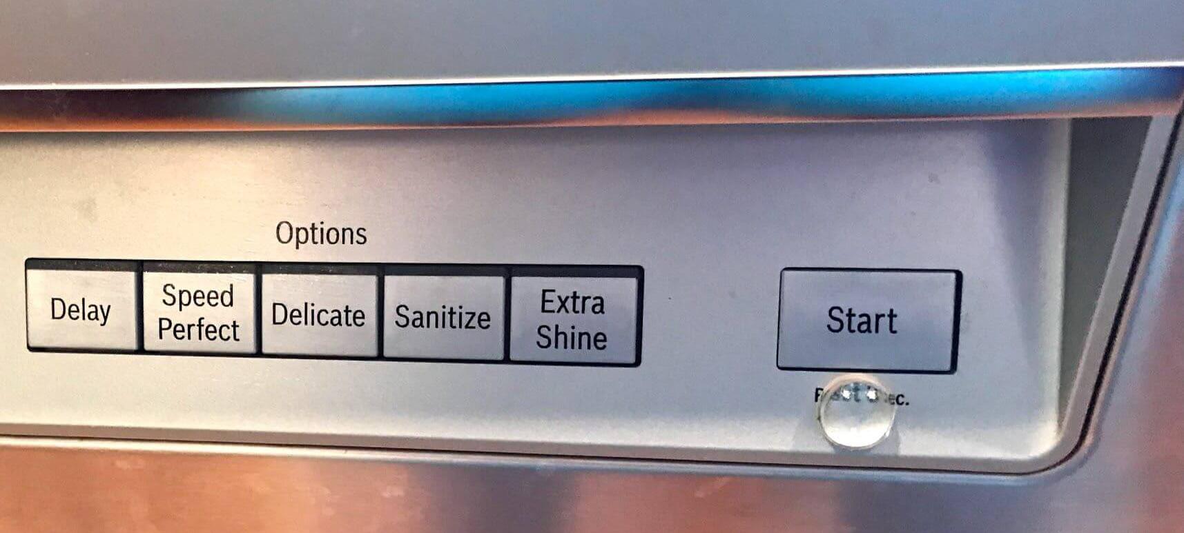 پنل ماشین ظرفشویی