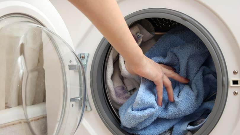 میزان پر کردن ماشین لباسشویی