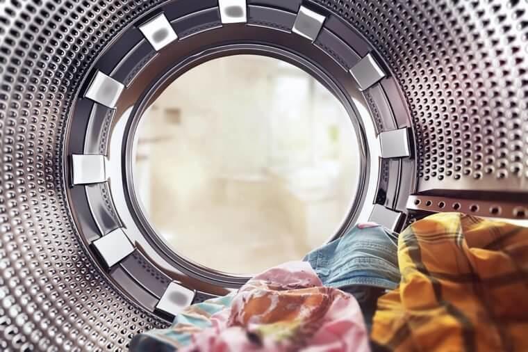 اشیاء درون ماشین لباسشویی