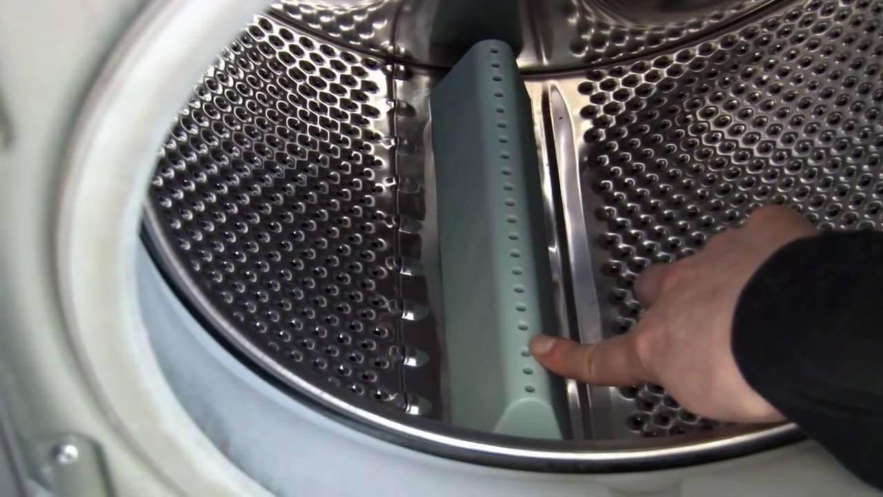لبههای حمل کننده ماشین لباسشویی