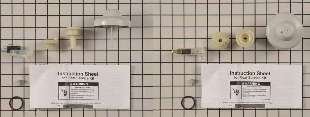 مجموعه شناور، سوئیچ شناور و غیره در ماشین ظرفشویی