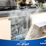 علت عدم تخلیه آب ماشین ظرفشویی و جمع شدن آب در آن