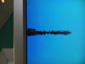 پیکسل سوخته تلویزیون