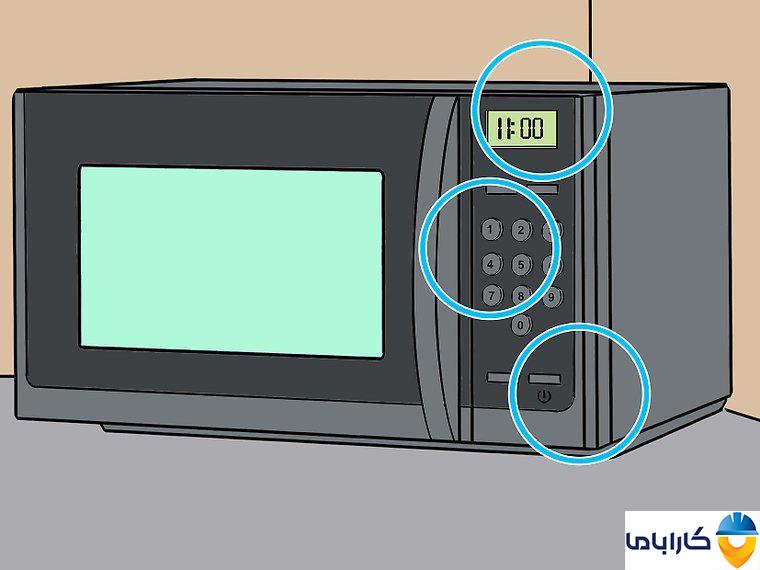 آموزش طرز کار با ماکروفر و ماکروویو- کنترل پنل ماکروفر