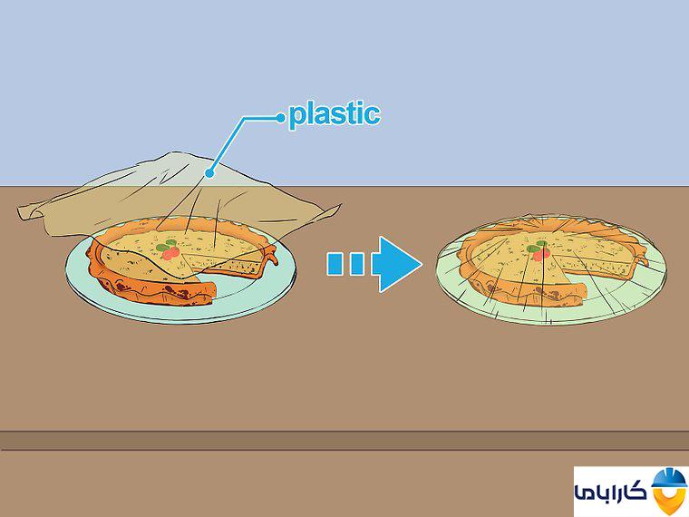 آموزش طرز کار با ماکروفر و ماکروویو- طرز گرم کردن غذا در ماکروفر