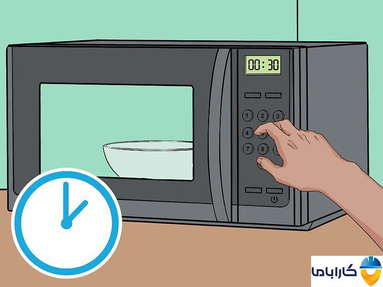 آموزش طرز کار با ماکروفر و ماکروویو- مدت زمان گرم کردن غذا در ماکروفر