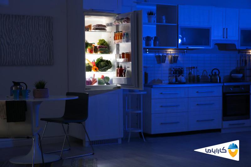 علت روشن نشدن لامپ یخچال و نحوه تعویض لامپ
