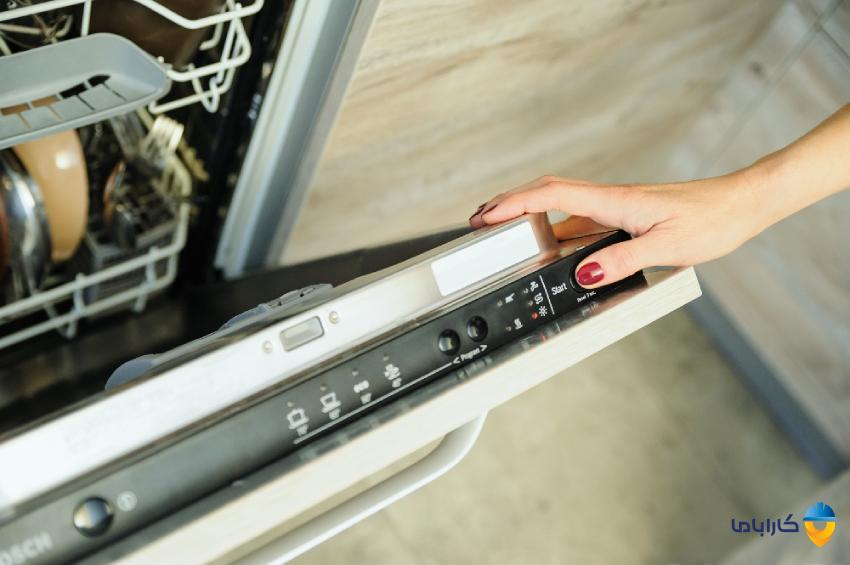 نحوه ریست کردن ماشین ظرفشویی