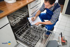 علت زنگ زدگی ماشین ظرفشویی
