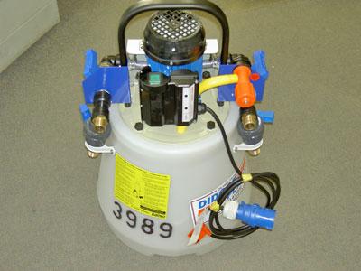 پمپ اسید شویی یا دستگاه پاور فلاش جهت رسوب زدایی پکیج
