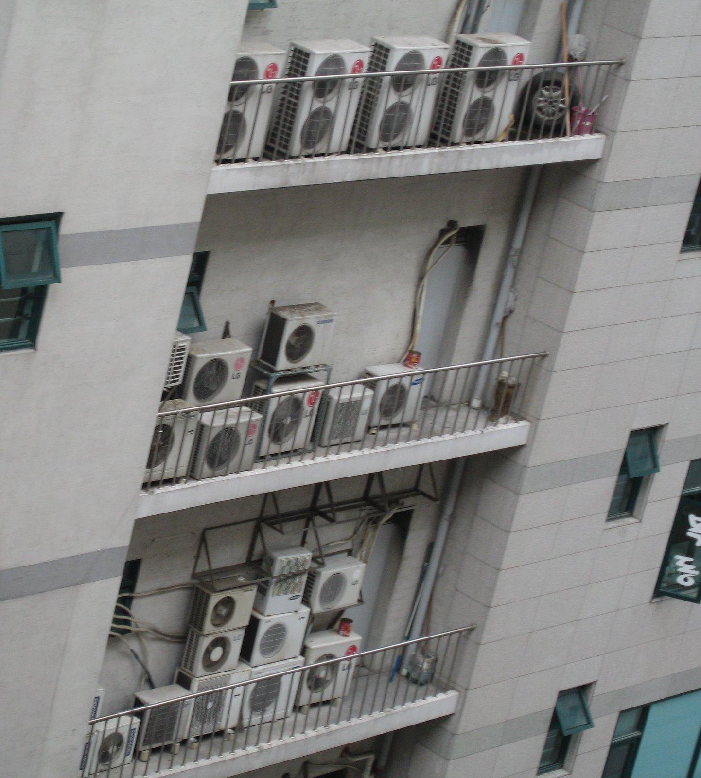 محل نامناسب نصب کولر علت باد گرم کولر گازی
