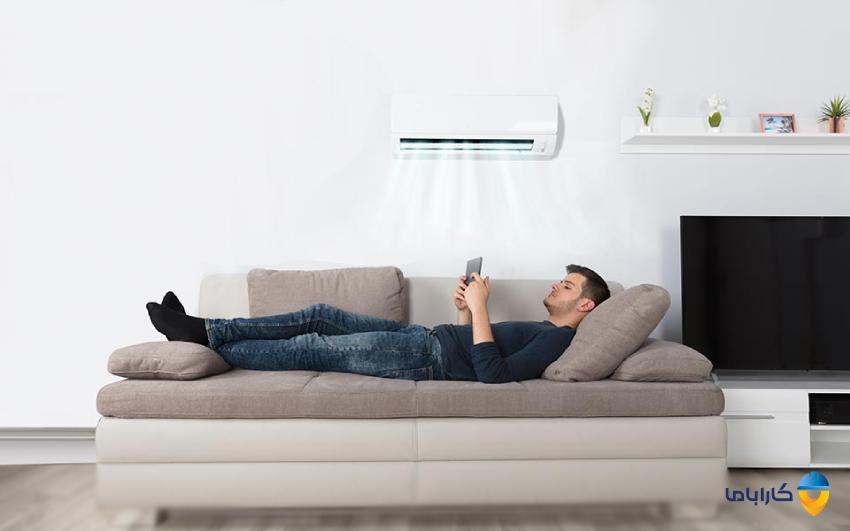 بهترین دما برای تنظیم درجه کولر گازی یا اسپلیت در تابستان و زمستان