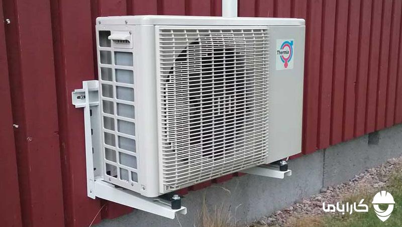 بهترین محل برای نصب کولر گازی