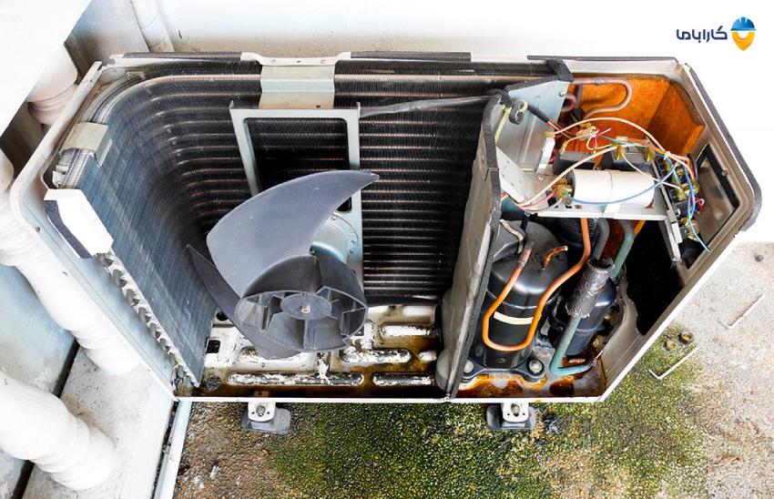 علت کار نکردن کمپرسور کولر گازی| علت خاموش شدن یا روشن نشدن کمپرسور