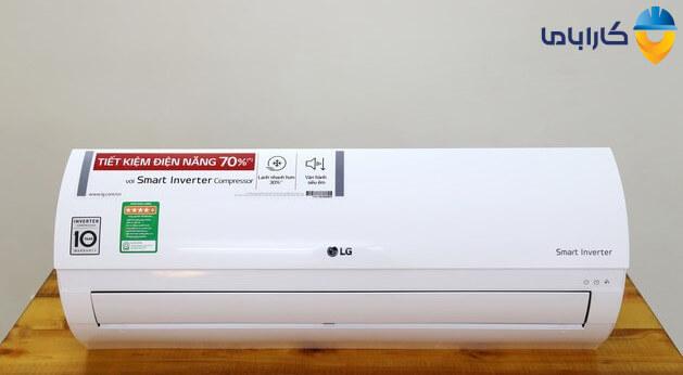 استفاده از دکمه خاموش/روشن در پنل داخلی برای روشن کردن کولر گازی بدون کنترل