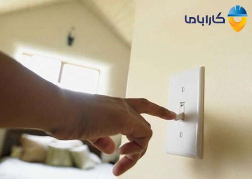 استفاده از کلید قطع کننده مدار برای روشن کردن کولر گازی بدون کنترل