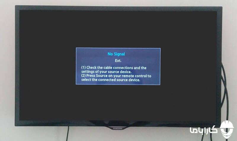 علت کار نکردن پورت HDMI در تلویزیون