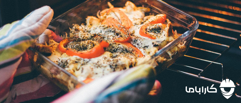 سوختن غذا در ماکروفر
