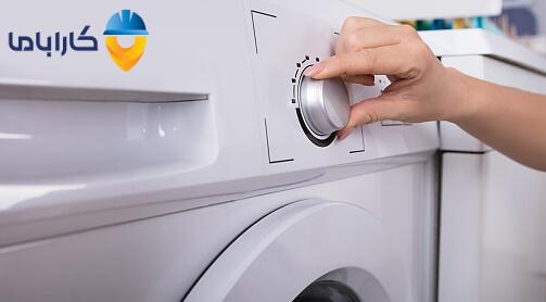 دستگیره تایمر ماشین لباسشویی
