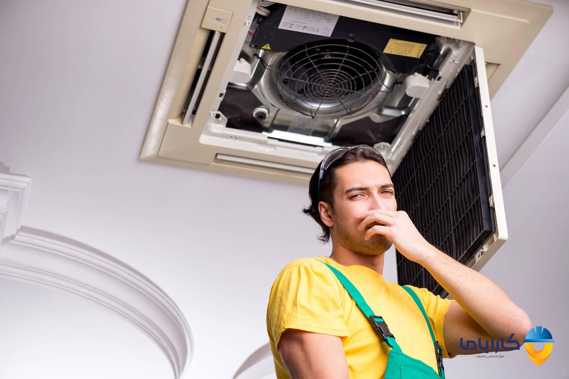 علت بوی بد کولر گازی